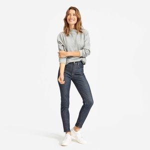 Women's Everlane The High-Rise Skinny Jean in Dark Indigo Size 28